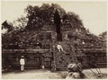 KITLV 40181 - Kassian Céphas - West or back of the Shiva temple of Prambanan Tjandi - 1889-1890.tif