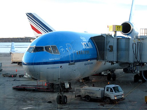 KLM and AirFrance at Trudeau