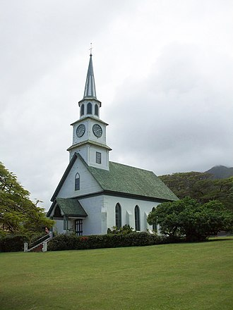 Kaahumanu Church - Shown from north-eastern elevation, March 2010