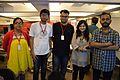 Kaberi Roychowdhury with Wikipedians - Apeejay Bangla Sahitya Utsav - Kolkata 2015-10-10 5675.JPG