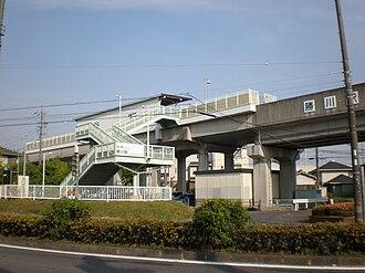 Kachigawa Station - Image: Kachigawa (Tokai Transport Service) 03
