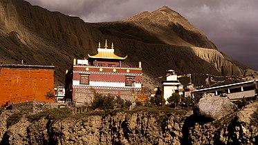 Kag chode,Buddhist Temple at Kagbeni, Mustang, Nepal.jpg
