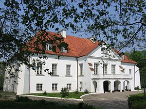 The Haunted Manor - Manor house in Kalinowa, the probable original location for the setting of The Haunted Manor