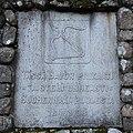 Kalmalahti battle memorial 3 stone plaque.JPG