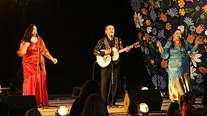 Romani people in Hungary - Hungarian Romani music group Kalyi Jag in concert in Warsaw