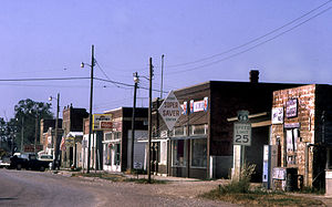 U.S. Route 56 - Scranton, Kansas on US 56, in 1974