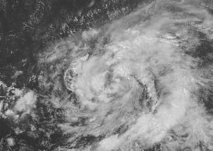 Hurricane Karen (2007) - Tropical Storm Karen on September 25 as a weak tropical storm