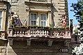 Kariatidák az erkélyen, Burghardt-ház, Nádor utca 32., Zoltán utca felől, 2017-08-09 Budapest (24610022898).jpg