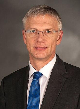 Prime Minister of Latvia - Image: Karins, Krisjanis 9702