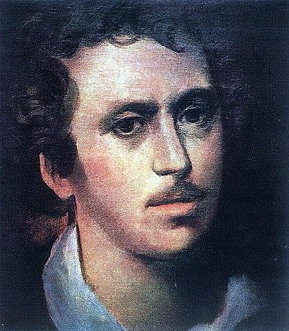 К.П.Брюллов. Автопортрет. 1823 год