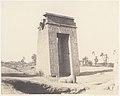 Karnak (Thèbes), Grande Porte du Sud Vue du Point C MET DP71351.jpg