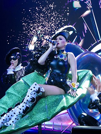 """Bon Appétit (song) - Perry performing """"Bon Appétit"""" during Witness: The Tour in Madison Square Garden"""