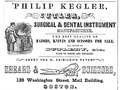 Kegler WashingtonSt BostonDirectory 1852.png