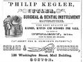Kegler WashingtonSt BostonDirectory 1852.png