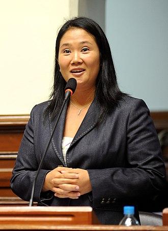 Fujimorism - Image: Keiko Fujimori 2