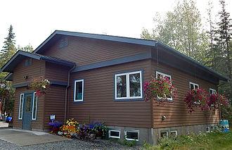 Soldotna, Alaska - Kenai Watershed Forum in the historic Ralph Soberg House