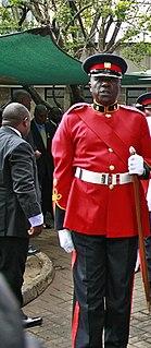 Kenya Army Infantry