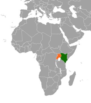 Kenya–Uganda relations bilateral relations between Kenya and Uganda