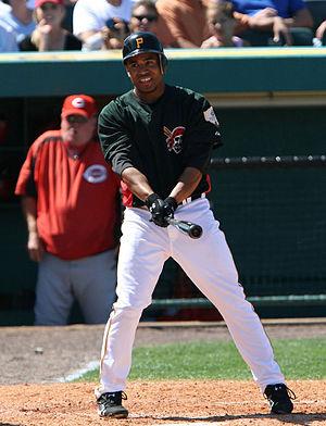Kevin Thompson (baseball) - Image: Kevin Thompson 2008