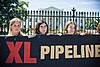 Demonstration against the Keystone XL extension at White House, August 2011