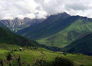 Mtiuleti - Khada gorge, Mtiuleti