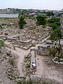 The remains of the city of Chersonesos.