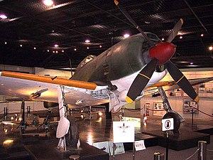 Nakajima Ki-84 - Image: Ki 84 Right front view