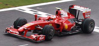 2009 Belgian Grand Prix - Kimi Räikkönen achieved Ferrari's only win of 2009.