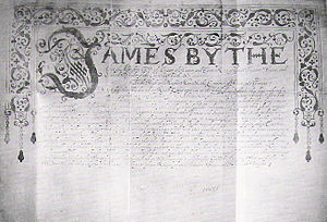 Japan–United Kingdom relations - The 1613 letter of King James I remitted to Tokugawa Ieyasu (Preserved in the Tokyo University archives)