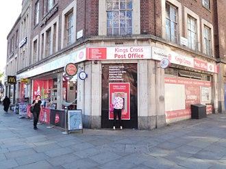 Kings Cross, London - Kings Cross Post Office in Kings Cross, London.