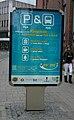 Kingston park and ride advert Eden Street.JPG