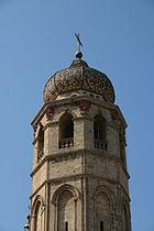 Kirchturmspitze oristano duomo santa maris assunta