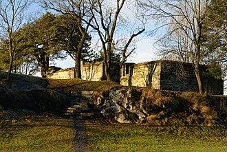Skien - Kapitelberget church ruins