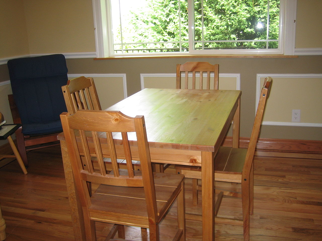 Wooden Kitchen Table Plans Free