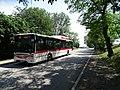Kněževes (PZ), Na Staré silnici, autobus 319.jpg