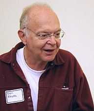 Donald Knuth na primanju za Open Content Alliance, 25. oktobar 2005