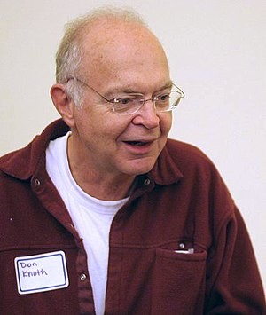 Donald Knuth - Knuth in 2005