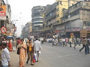 Burrabazar - Mahatma Gandhi Road, the lifeline of Burrabazar