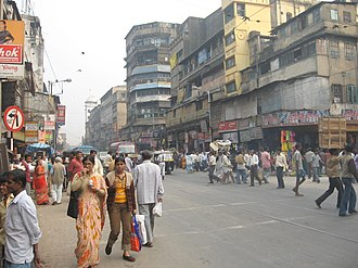 Burrabazar - Mahatma Gandhi Road, the lifeline of Burrabazar