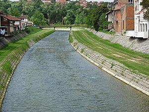 Kolubara - Kolubara River in Valjevo
