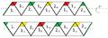 Kombination der gesichter-, blattbündel- und radialorientierten Netzbeschriftung eines Trihexaflexagons.png