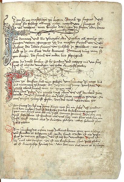 File:Konrad von Grünenberg - Beschreibung der Reise von Konstanz nach Jerusalem - Blatt 17r - 039.jpg