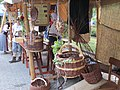 Korbwaren beim Mittelalter Markt - panoramio.jpg