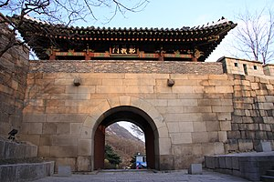 Changuimun - Image: Korea Seoul Changuimun 01