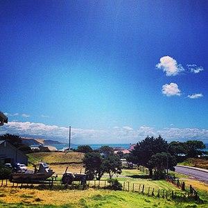 Ahipara - Korou Kore Marae - located at the base of Whangatauatia Maunga, over looking Te-Oneroa-a-Tōhē