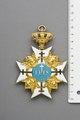 Kors med måttangivelse i form av linjal - Livrustkammaren - 86643.tif