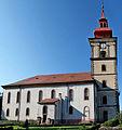 Kostel sv. Petra a Pavla, Mimoň - pohled od jihu.jpg