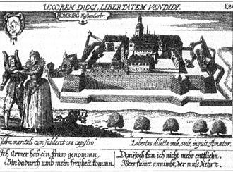 Homburg (Saar) - Homburg in the 17th century