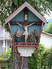 Pestfriedhof mit Kreuzgruppe
