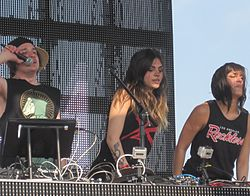 Krewella in Indiana (Mai 2012)